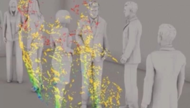 بررسی انتقال ویروس کرونا از طریق ذرات تنفسی شناور در هوا